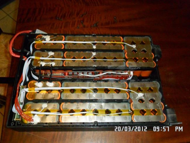 Batteria Zem Star 45 60V/24Ah li-ion LiCoO2 estraibile - 16S6P