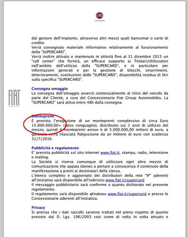 patto segreto FIAT IP anti auto elettriche